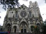 The Cathedral Church of St. John The Divine とても大きな教会。