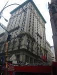 NYCではこういう建物をよく見かける。
