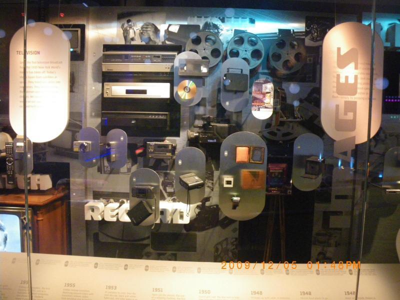 技術の進歩を感じることが出来る展示品もありました。