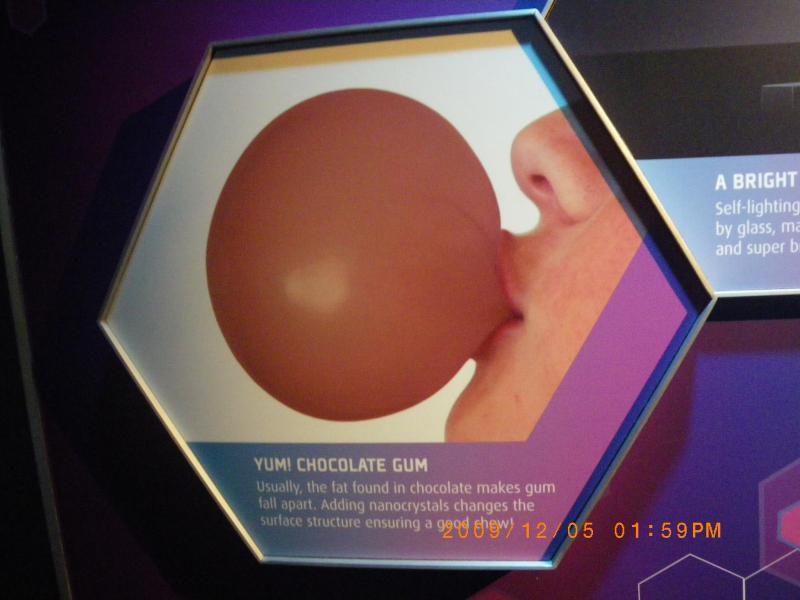 Chocolate Gum!?