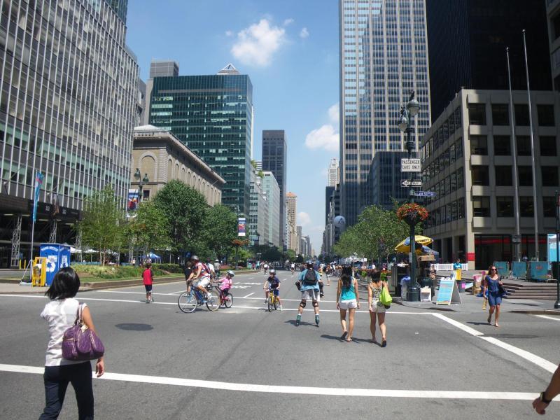 自転車が主役の普段とは異なるNew York City